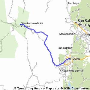 R: Salta - San Antonio de los Cobres