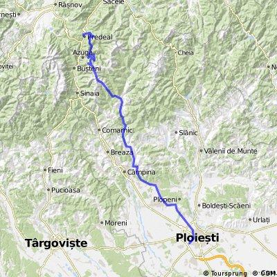 100 km prin Prahova County