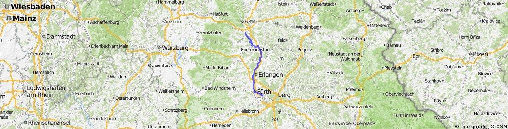 Bamberg - Nuernberg