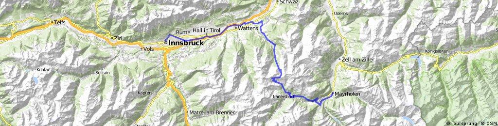 Innsbruck Mayrhofen