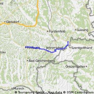 Feldbach Bahnhof - Heiligenkreuz 1