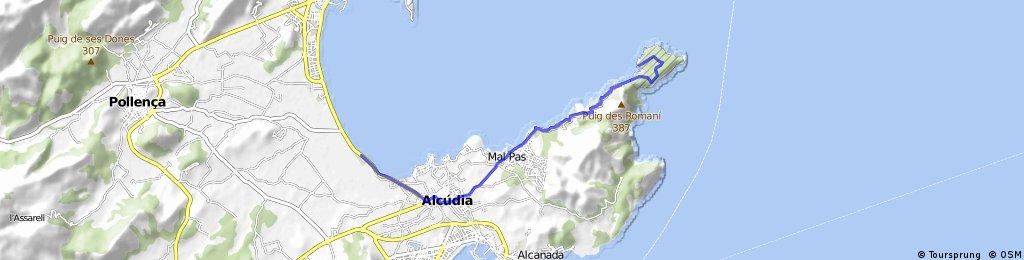 25 km einrollen malle