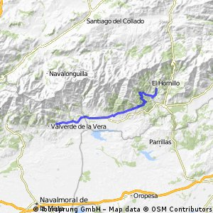 6 0 Villanueva-Arenas de San Pedro  55 km