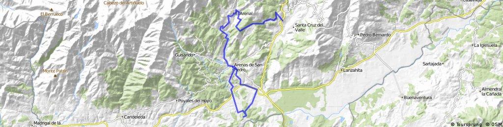 7 0 Arenas de San Pedro - Monbeltran  40 km
