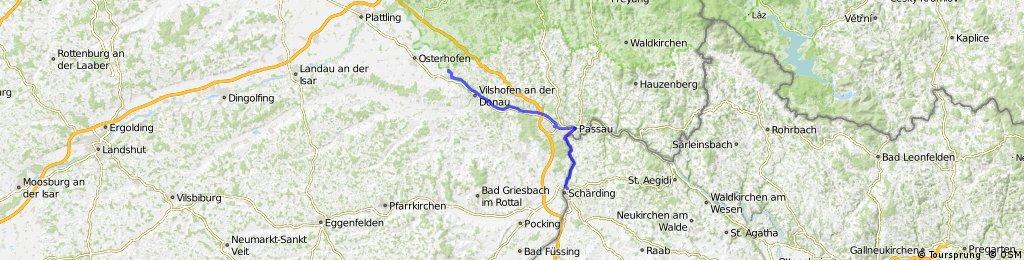 Hofkirchen - Passau - Schärding 2