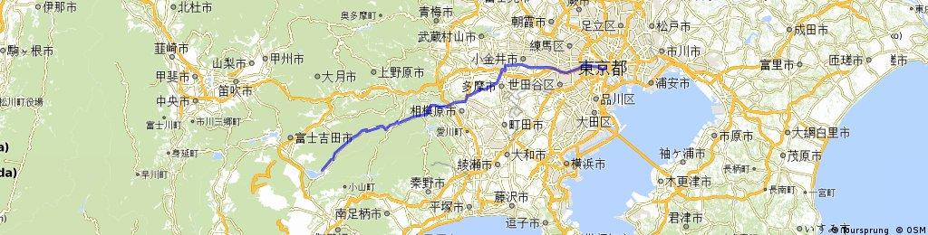 Tokyo to Lake Yamanaka