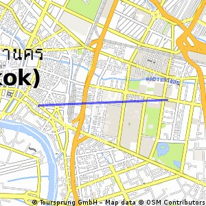 Short ride from ลุมพินี to สัมพันธวงศ์