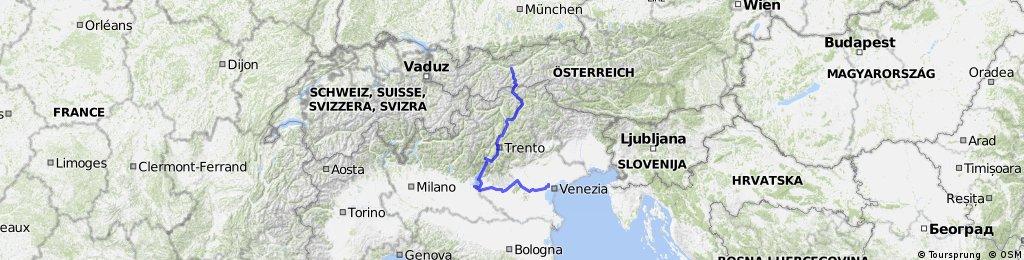 Innsbruck to Venice - Indianer mit schlag tour!!!