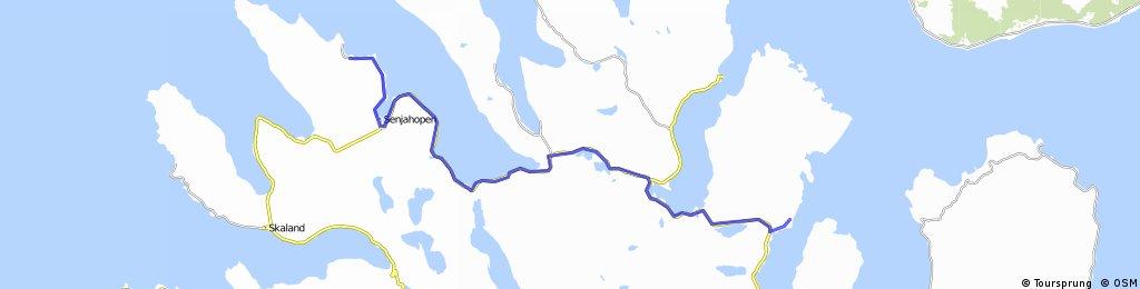 mefjord -lysnes