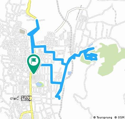 ride through Taunggyi