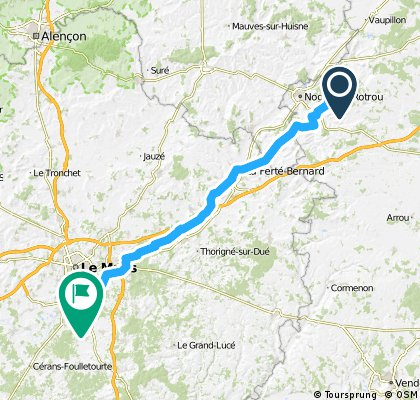 Brunelles - Beauséjour dag 4 LM roadtrip