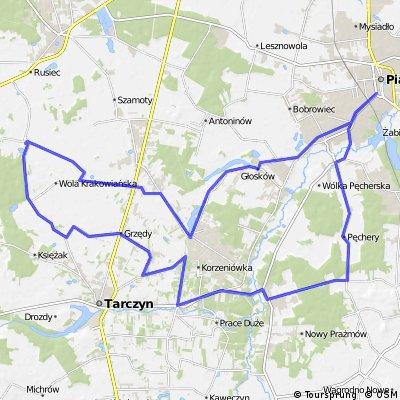 Piaseczno - Młochów - Piskórka - Piaseczno