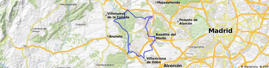 Boadilla - Villaviciosa - Boadilla