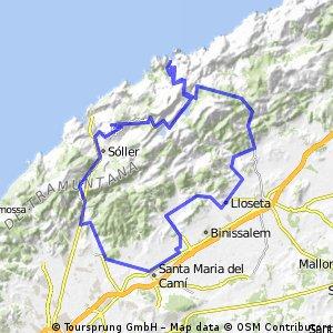Consell-soller-Sa Calobra-Caimari-Manco-Tofla-Consell
