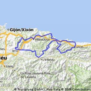 Asturias Concejo a Concejo 2016. Etapa 3 (Sierra del Sueve)