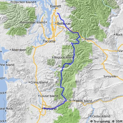 Snohomish to Portland through the Backdoor