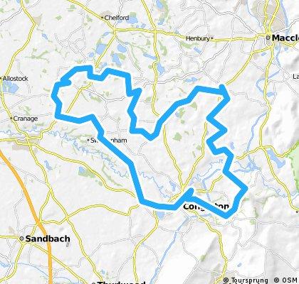 Congleton - Cloud - Marton - Goostrey - Congleton