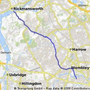 London to Rickmansworth