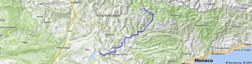 Francia- és Provence Alpok, Cote d'Azur 6. nap