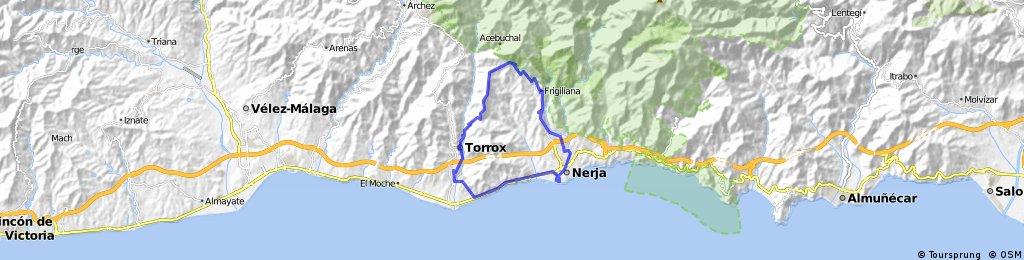 Toertje Frigriliana  32 km