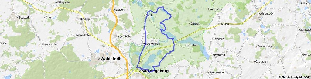 Kreis Segeberg Nord gefahren (32,0km)