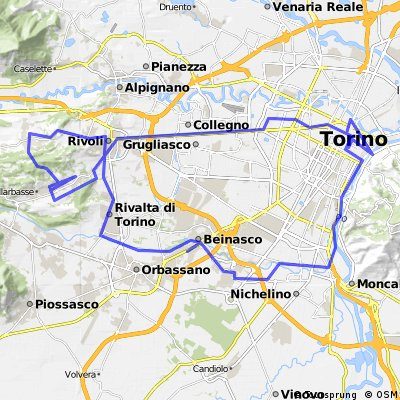Lengthy ride through Rosta