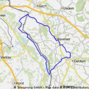 Geldern-Massduinen-Siebengewald-Weeze-Kevelaer