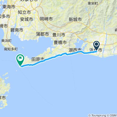 CJ05 浜松~伊良湖(2016)