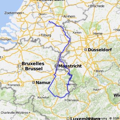 LF3a-Ardennen-Vennbahn fietsvakantie 2014