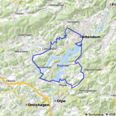 Att. Bürberg, Eichhagen, Hunswinkel, Albringhausen, Att.