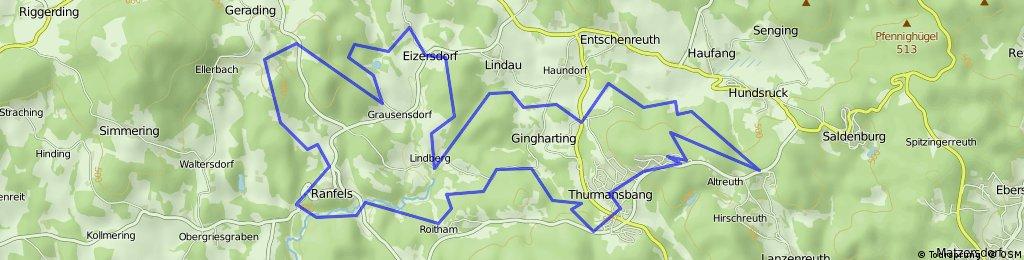 Thurmansbang - Gruselsberg - Thurmansbang