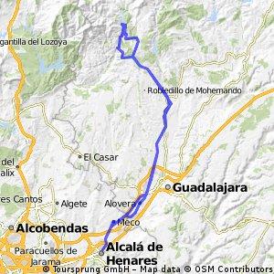Alcala de Henares-El Vado- Alcala de Henares
