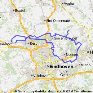 16/04/14 (wo) Rondje Helmond.