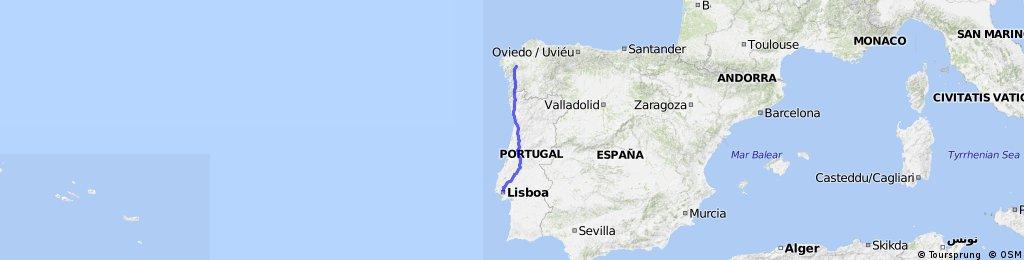 Camino de Santiago Portugues 2013