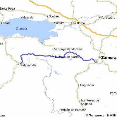 J63 – Dimanche 13 mars 2016 – Mazamitlan – Jacona La Plancarte