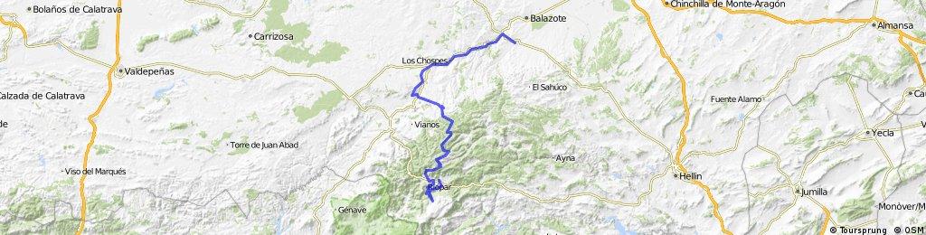 Sierra de Alcaraz - Chorros del Mundo