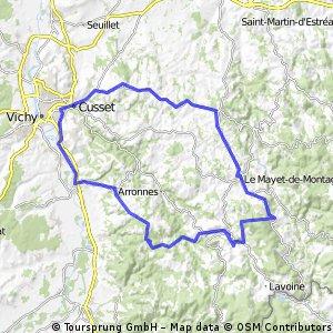 Vichy - la ferrières sur Sichon