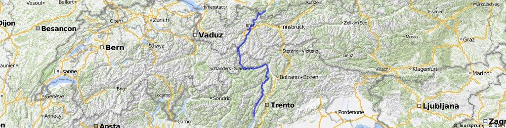 Alpencross 2002 von Garmisch nach Riva