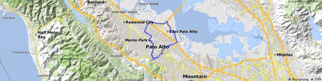 Palo Alto Ride