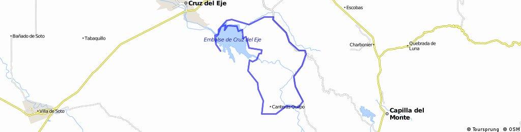 San Marcos Sierras - Canteras Quilpo - Dique Cruz del Eje