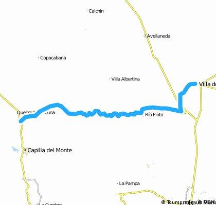 Valle de Punilla - Camino Real