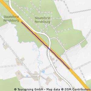 Schnelle Radrunde von Emkendorf nach Groß Vollstedt