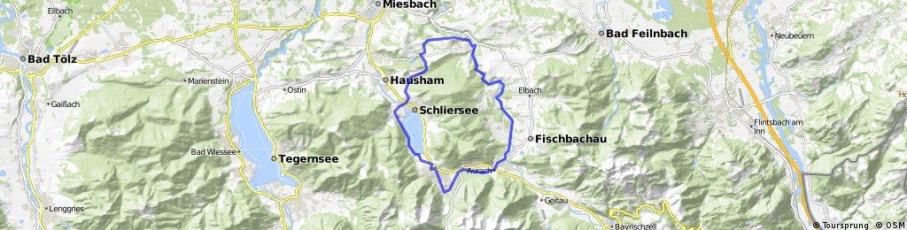 Vom Schliersee zum Leitzachtal