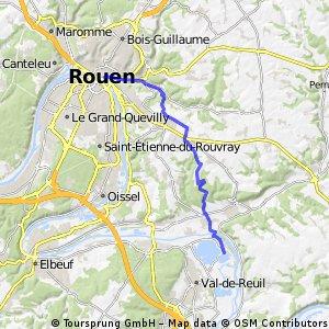 Rouen - Base de loisirs Léry-Poses
