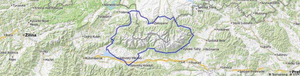 Tatry dookoła Zakopane,Liptowski Mikulec,Zakopane