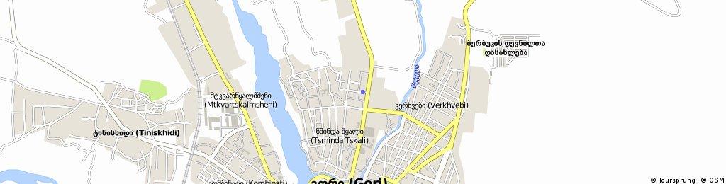 Brief ride through Gori