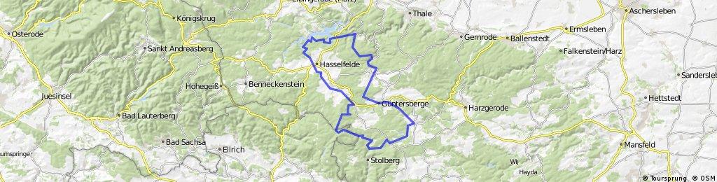 Stiege - Südharzrunde