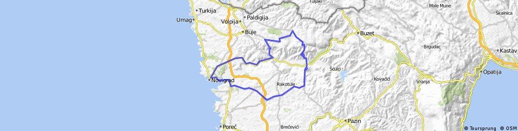 Novigrad-Motovun-Novigrad