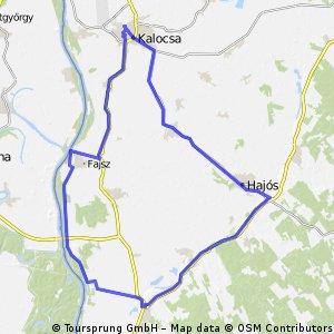 Kalocsa-Hajósi pincefalu 80-as kör