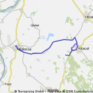 Vörös mocsár északi pontja és Kecel